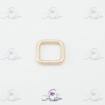 حلقه رنگ ثابت مربع ۲سانت قیمت #حلقه کد 310