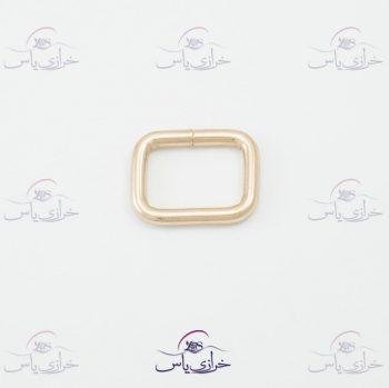 حلقه رنگ ثابت مستطیل ۲سانت قیمت #حلقه کد 312