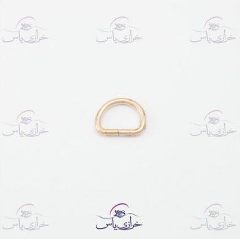 حلقه نیم گرد نقره ای ۲