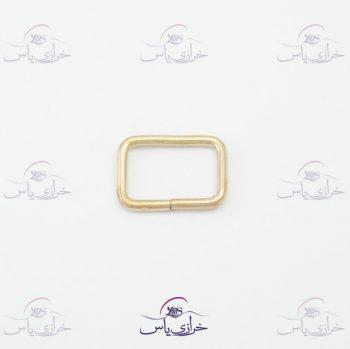 حلقه معمولی طلایی ۲سانت قیمت #حلقه کد 318
