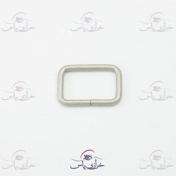 حلقه معمولی نقره ای ۲سانت قیمت کد 319